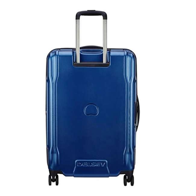 """40207982002 DELSEY Paris Cruise Lite 2.0 25"""" Hardside Expandable Suitcase Travel Bag, Blue 2"""