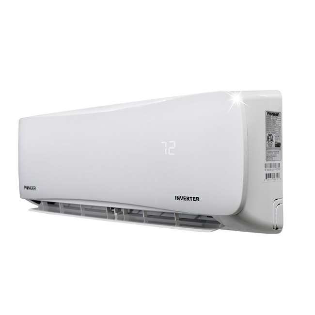 WYS018GMFI19RL Pioneer 18000 BTU 208/230V Ductless Mini Split Air Conditioner Heat Pump System 3
