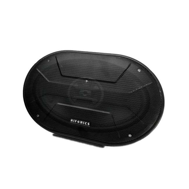 ZS-693-U-B Hifonics Zeus 800 Watt 6 x 9 Inch 3 Way Car Audio Coaxial Speakers Pair (Used) 3