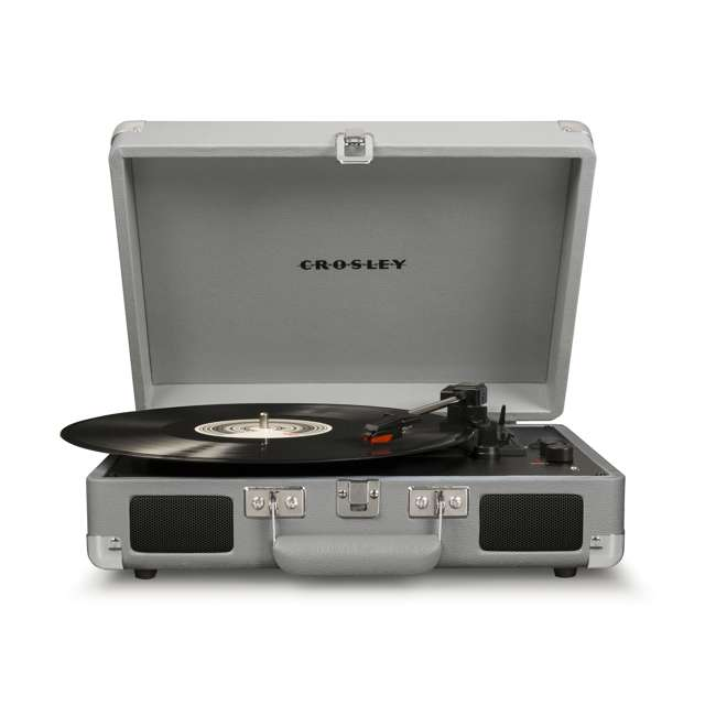 CR8005D-CG-U-C Crosley Cruiser Deluxe Bluetooth Enabled 3 Speed Turntable (For Parts)