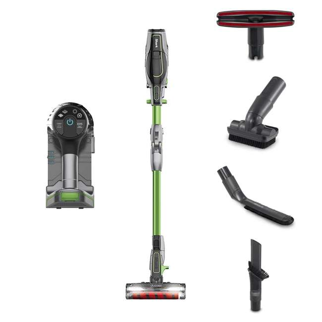 IF201_EGB-GN-RB Shark IONFlex Cordless Stick Vacuum (Certified Refurbished)