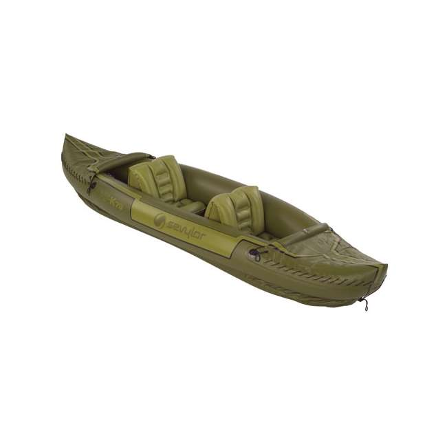 2000010629 Sevylor Tahiti 2-Person Fishing Inflatable Kayak Boat