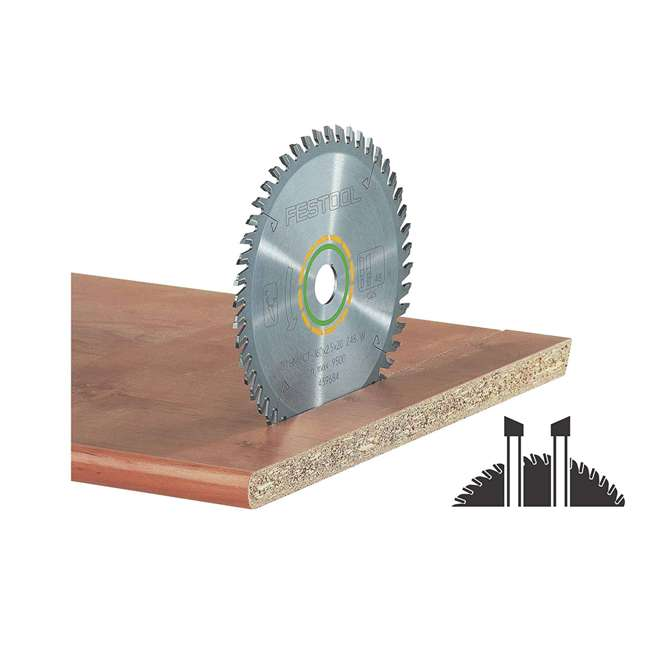 495377 Fine Tooth Cross-Cut Saw Blade For TS-55 Plunge Cut Saw
