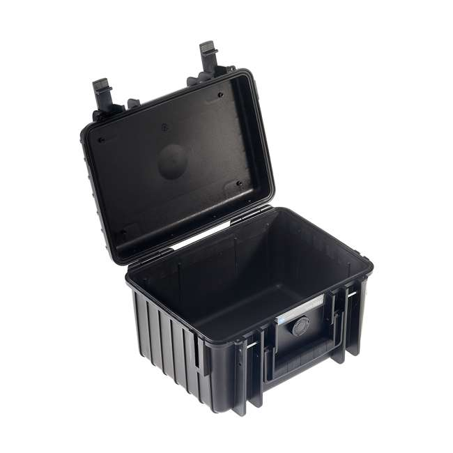 2000/B/SI B&W International 2000/B/SI Hard Plastic Outdoor Case with Removable SI Insert 2