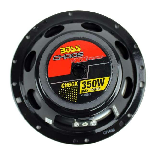 6 x CH6CK Boss 6.5-Inch 350 Watt Component Speaker Systems (6 Pack) 6