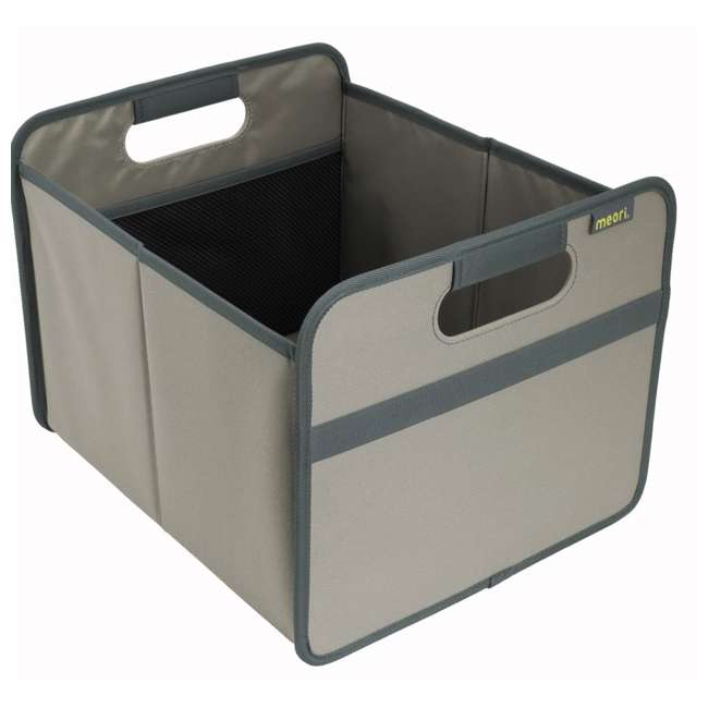 A100028 + A100198 Meori Classic Collection 4 & 6.5-Gallon Foldable Box, Stone Gray 2