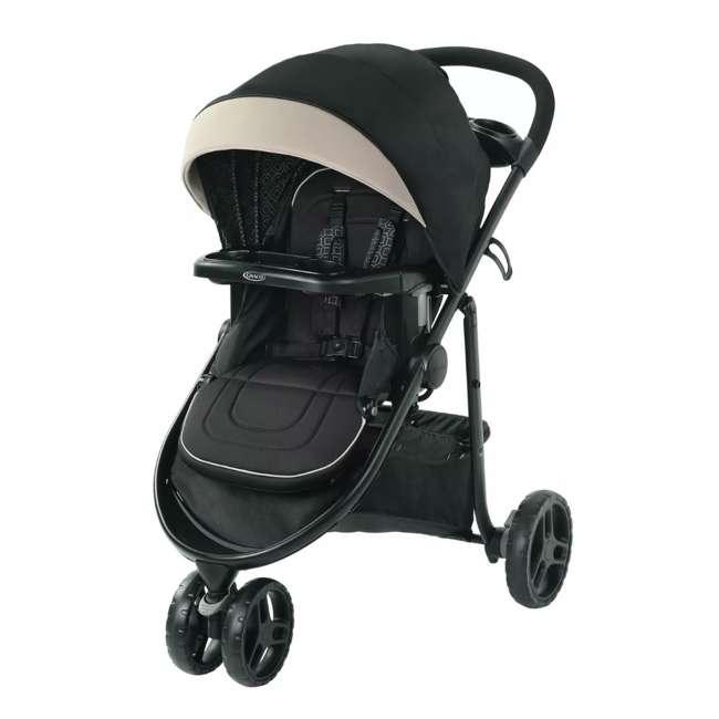 2083432 Graco 2083432 Modes 3 Lite DLX Folding Convertible Toddler Baby Stroller, Pierce