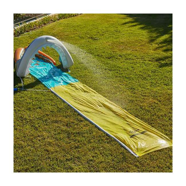 WMO-64762 Wham-O 16-Foot Mega Shark Slip-N-Slide Outdoor Water Slide Toy 1