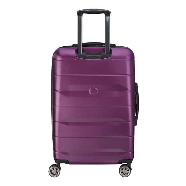 40386582008 DELSEY Paris Comete 2.0 24-Inch Expandable Spinner Upright Travel Bag, Purple 2