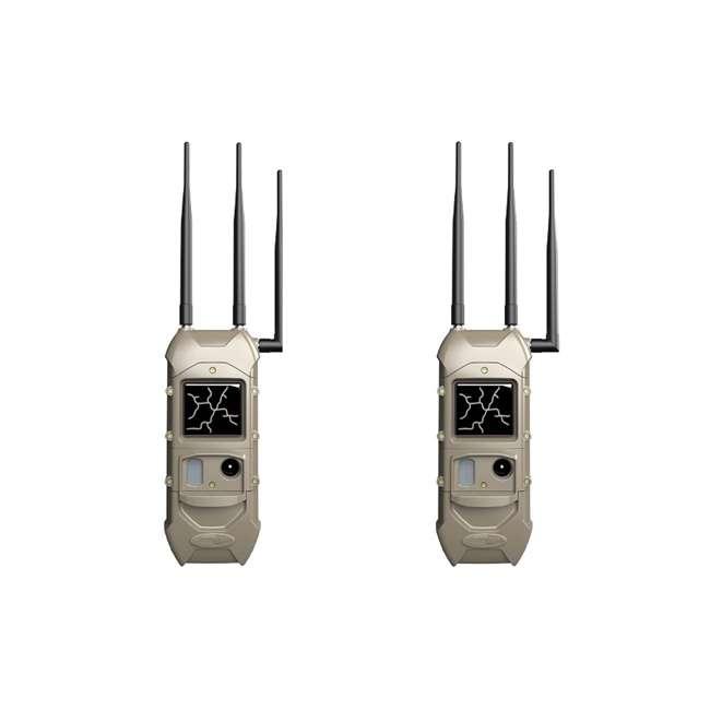 K-5789 Cuddeback K-5789 CuddeLink 20MP Dual Cell Verizon LTE Trail Camera (2 Pack)
