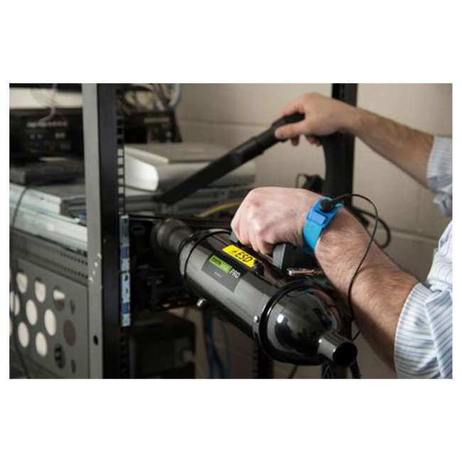 MDV-1ESD MetroVac DataVac ESD Safe Pro Series Vacuum and Blower Black 2