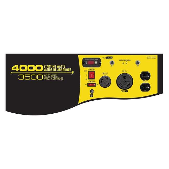 CPE-GN-46539 Champion 46539 Portable Wheeled Wireless Start Gas Powered 3500 Watt Generator 1
