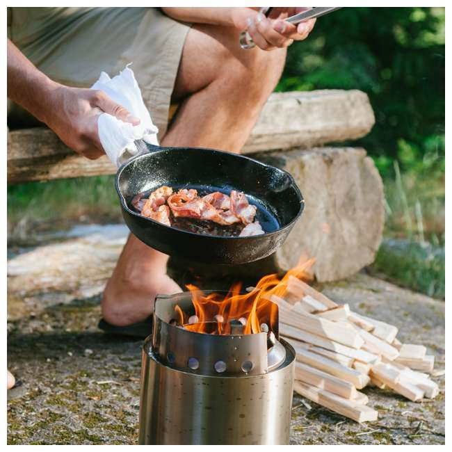 SSCF Solo Stove Campfire Portable Outdoor Wood Burning Camping Backpacking Camp Stove 3