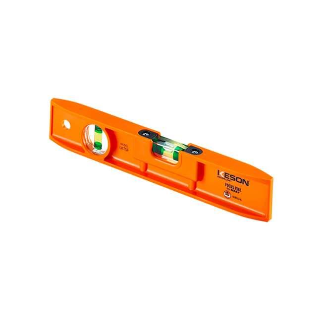LKTFM Keson LKTFM 9-Inch V-Groove Torpedo Style Level Tool 3