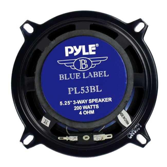 Pyle PL53BL 5.25-Inch 200 Watt Car Audio Speakers (Pair