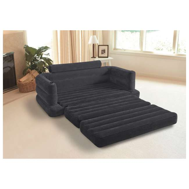 INTEX Inflatable Pull Out Sofa & Queen Bed Mattress