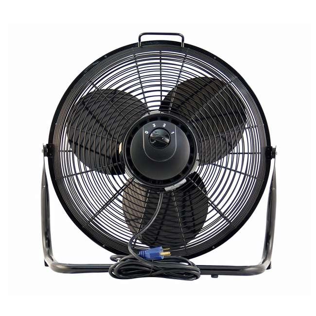20 Inch Floor Fan : Air king speed hp inch pivoting floor fan pack