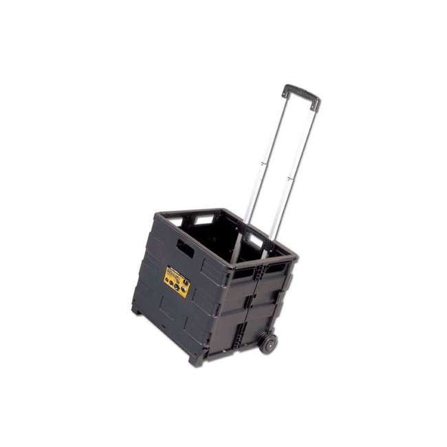 85-010 Olympia Tools 85-010 Grand Pack-N-Roll Plastic Portable Tool Carrier Cart, Black