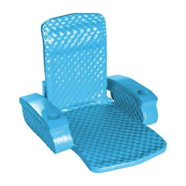 6370128-U-A TRC Recreation Baja Swimming Pool Folding Chair Foam Float (Open Box) (2 Pack)