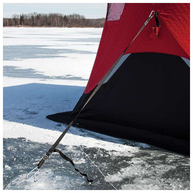 ESK-FF9416i Eskimo FatFish Insulated 7-9 Person Pop Up Ice Fishing Shelter 2