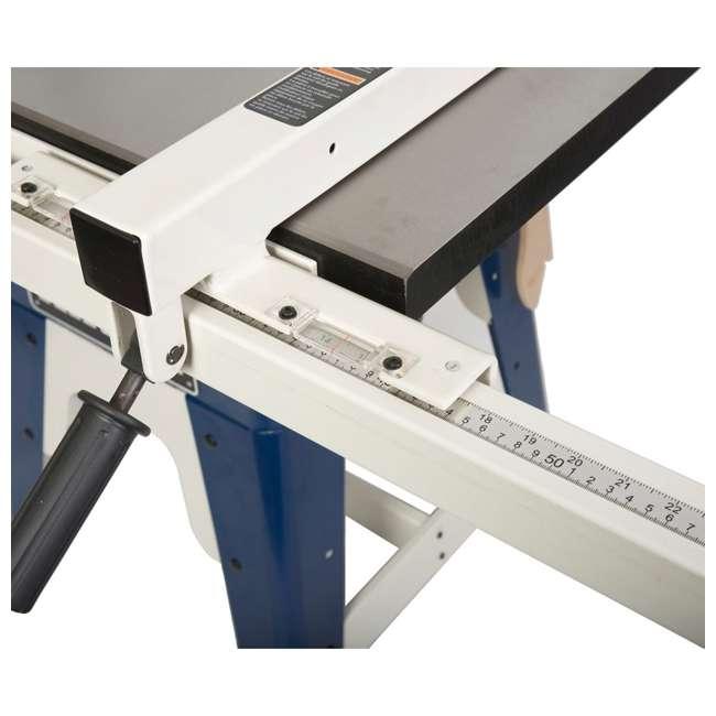 10-201 RIKON  Power Tools Cast Iron Contractors Left Tilt Table Saw, 10 Inch 2