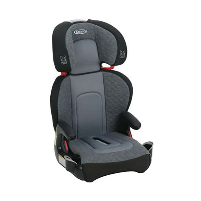 2035170-U-A Graco Highback TurboBooster Height Adjustable Car Seat, Denver (Open Box) 1
