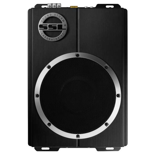 LOPRO8 Soundstorm LOPRO8 8-Inch 600W UnderSeat Powered Subwoofer (2 Pack) 2