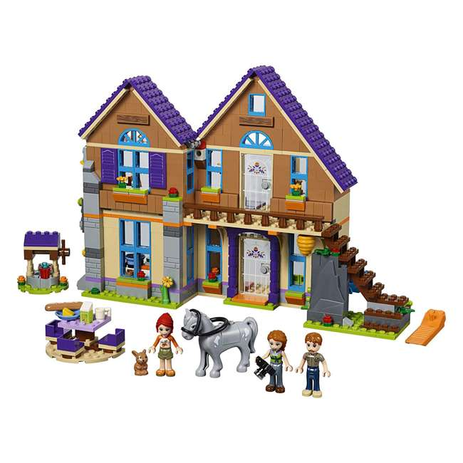 6251511 LEGO Friends 41369 Mia's House 715 Piece Block Building Kit with 3 Minifigures