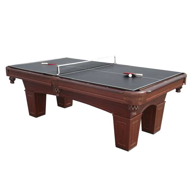 BLL096_097B Barrington 8-Foot Billiard Pool Table and Table Tennis Top 2