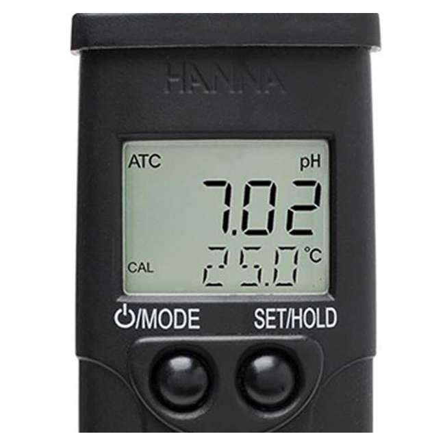 HI98129-U-A Hanna Instruments pH/EC/TDS/C/PPM Test & Temperature Monitor (Open Box) (2 Pack) 1