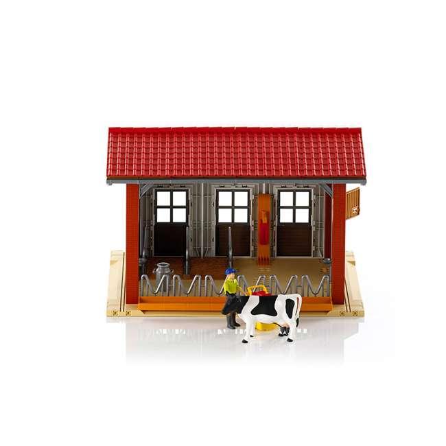 62621-BR Bruder Toys 62621 Cow Barn Playset