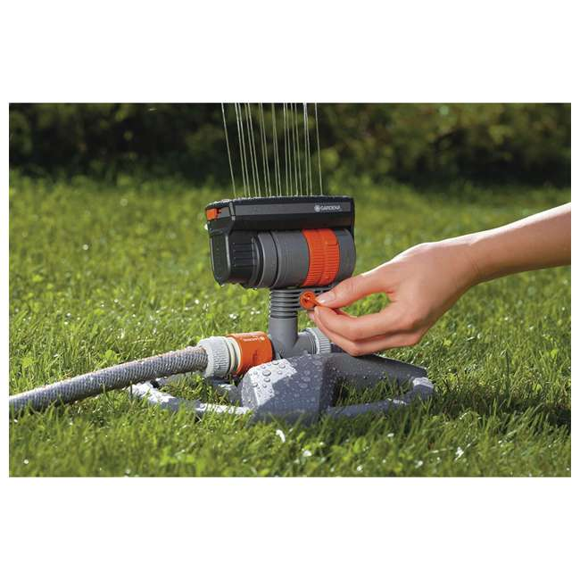 GARD-84-BZMX Gardena ZoomMaxx Oscillating Sprinkler and Base 1