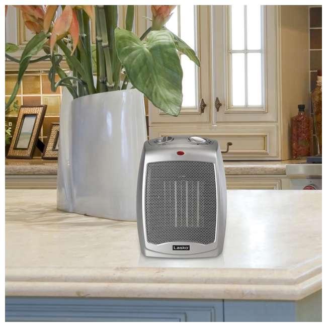 LKO-754200-TN Lasko 754200 Portable Home/Office Personal Electric 1500W Ceramic Space Heater 4