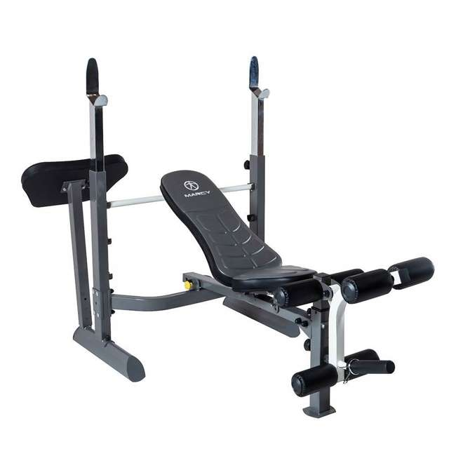 MWB-50100-U-A Marcy Foldable Mid Size Multi Function Rack Style Workout Bench (Open Box)