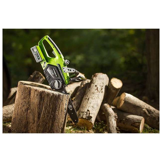 LCS32412 Earthwise 12-Inch 24-Volt Cordless Battery Powered Chainsaw 2