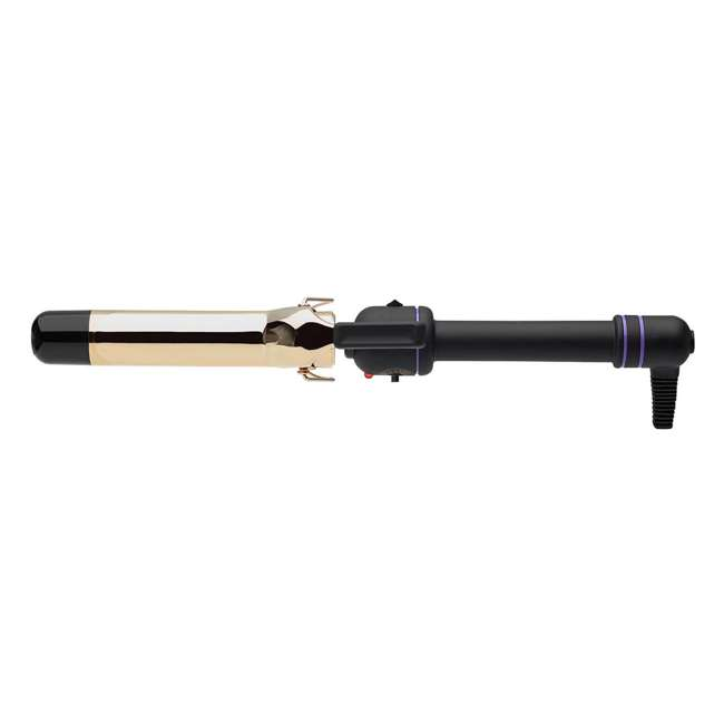 1110V81 Hot Tools Professional 1 1/4-Inch 24K Gold Curling Iron 2