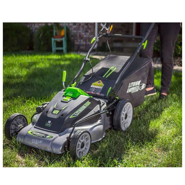 EWISE-60418 Earthwise 18-Inch 40V Lithium Battery Walk Behind Lawn Mower 4
