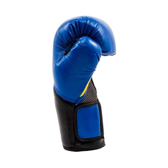 P00001205 + 4455BP Everlast Elite Pro Style 14-Ounce Training Boxing Gloves & Hand Wraps 5