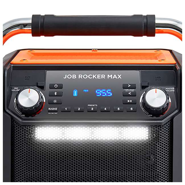 4 x iPA 81OR ION Audio Wireless Bluetooth Job Rocker Max Speaker (4 Pack) 2