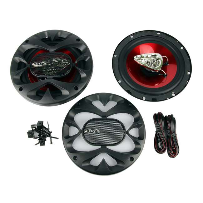 CH6530 Boss 6.5-Inch 3-Way 300 Watt Speakers (Pair)