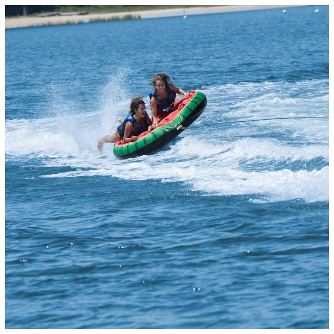 SL-22202 Swimline Solstice 2-Rider Watermelon Island Towable Tube (2 Pack) 3