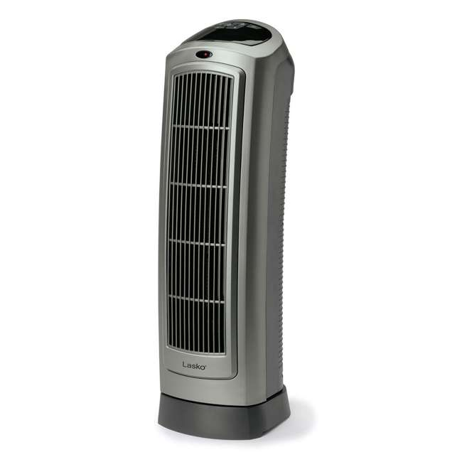 LKO-5538-TN-U-B Lasko 1500W Oscillating Ceramic Space Heater Tower with Digital Display (Used)