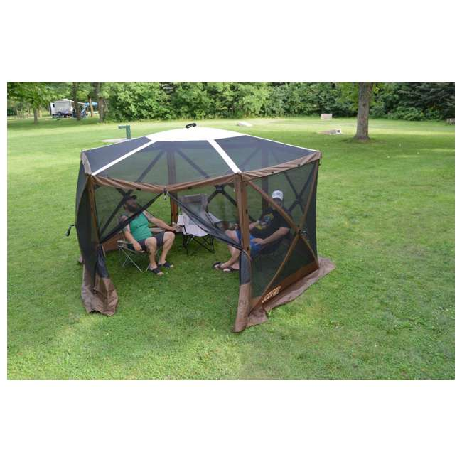 CLAM-ESSS-12873 Clam Quick-Set Escape Sky Portable Outdoor Gazebo Canopy 1