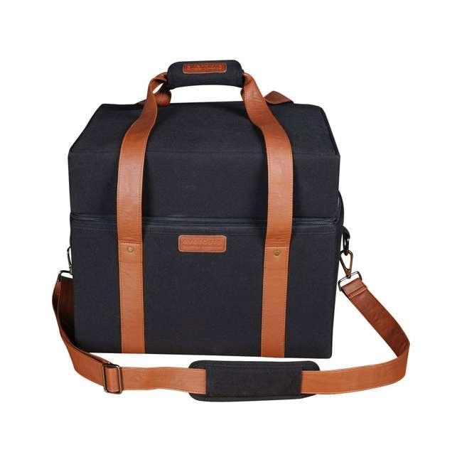 HBCUBEBAG Everdure Cube Portable Charcoal Barbeque Grill Carrier Travel Bag, Black