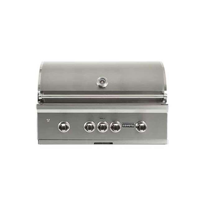 C2SL36NG Coyote C2SL36NG S Series 3 Burner 875 Square Inch Built In Natural Gas Grill