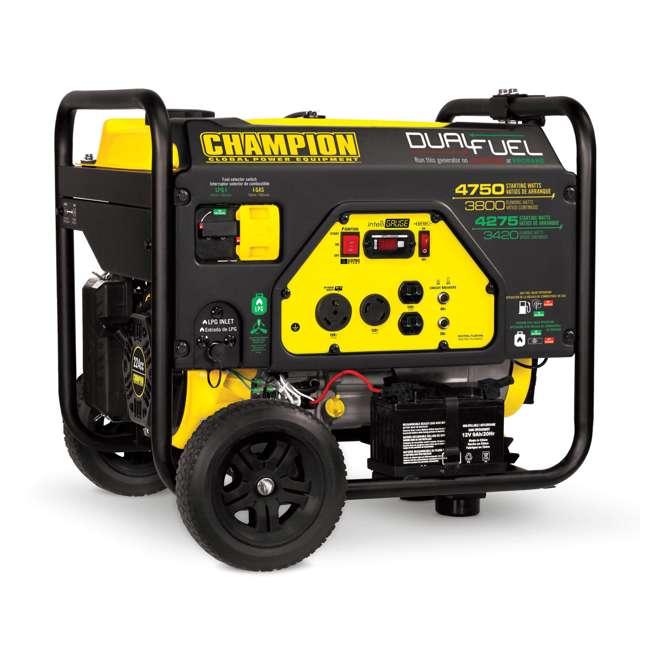 CPE-GN-76533 Champion 3800-Watt Portable RV-Ready Dual-Fuel Generator