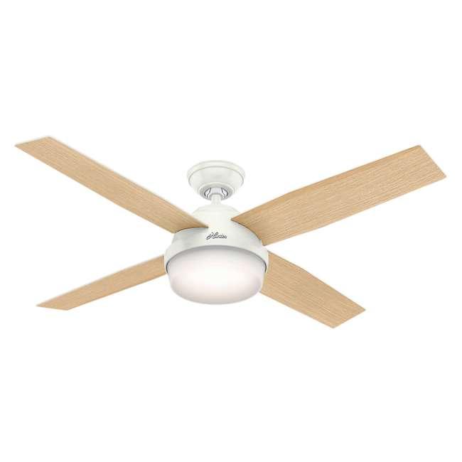 59242 Hunter Fan Company 59242 Dempsey 52 Inch Low Profile Ceiling Fan and Remote, Oak 1