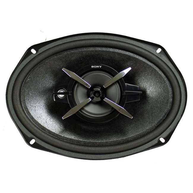 4 x XSFB6930 Sony XSFB6930 6x9-Inch 3-Way 450W Coaxial Stereo Speakers (4 Pairs) 2