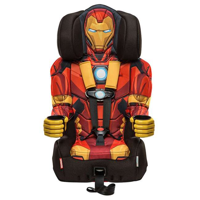 KE-3001RON Kids Embrace Marvel Avengers Iron Man Combination Car Seat  1