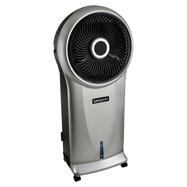 4 x EC110S-U-A Luma 250 Sq Ft 3 Speed Evaporative Cooler w/ Remote, Silver (Open Box) (4 Pack) 2